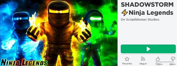 Códigos Ninja Legends de Roblox