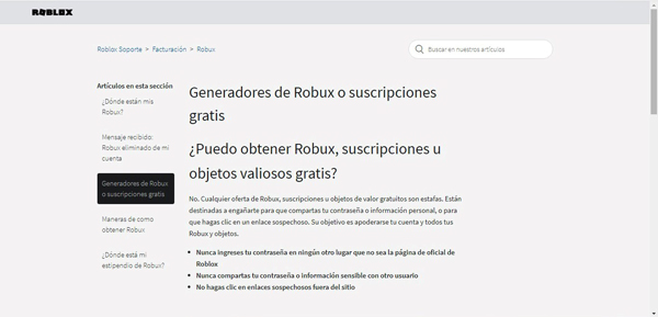 Robux gratis