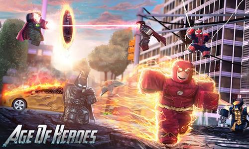 jugar al Age of Heroes de Roblox