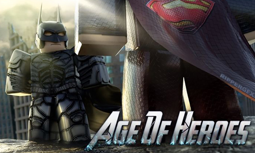 jugar al Age of Heroes de Roblox disfraces