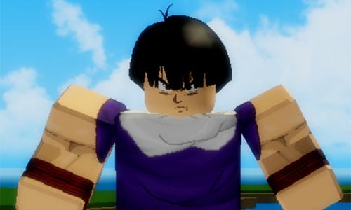 jugar al Dragon Blox Ultimate de Roblox Kid Gohan