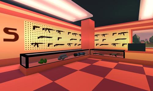 jugar al Jailbreak de Roblox armas