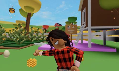 jugar a My Farm de Roblox