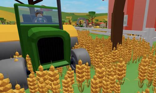 jugar a My Farm de Roblox Cultivos