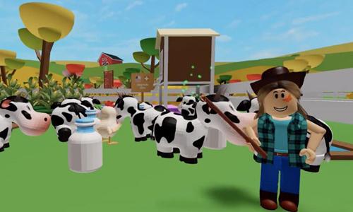 jugar a My Farm de Roblox Animales