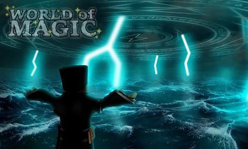 jugar al World of Magic de roblox