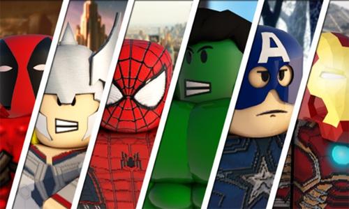 Roles para jugar al Superhero Tycoon roblox