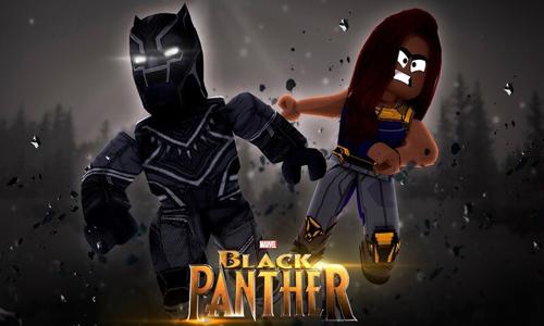 Pantera negra Superhero Tycoon roblox