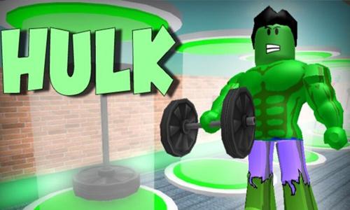 Hulk Superhero Tycoon roblox