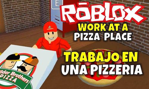 jugar al Trabajar en una Pizzería roblox